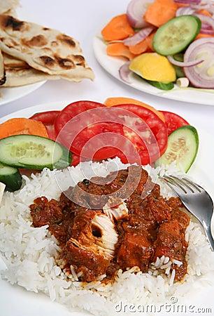Chicken tikka masala meal vertical