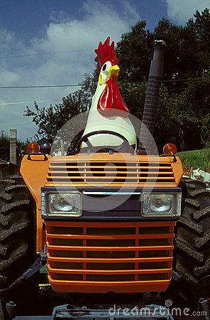 Free Chicken Tractor Royalty Free Stock Photo - 29214125