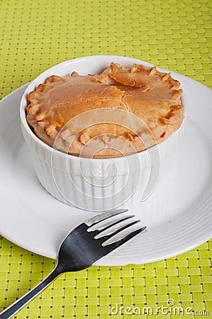 Free Chicken Vegetable Pie Stock Photos - 30209023