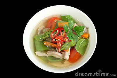 Chicken And Vegetable Soup 1