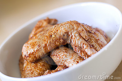 Chicken Wings in Marinade