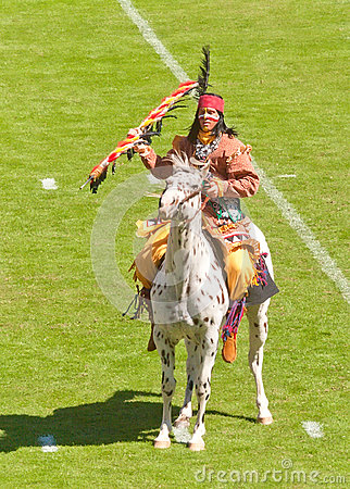 Chief Osceola and Renegade, FSU Mascots Editorial Stock Photo