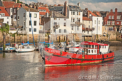 Chieftain fishing boat Editorial Stock Image