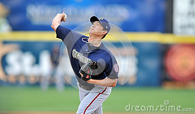 Chien-Ming Wang - Washington Nationals Pitcher Editorial Photography