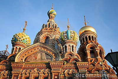 Chiesa su anima rovesciata, St Petersburg