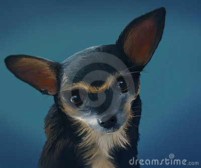 Chihuahua - Digital Painting