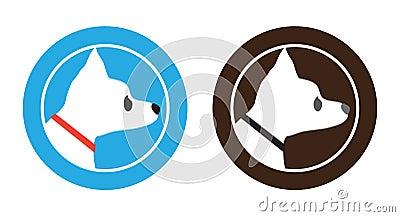 Chihuahua Dog Badge Symbol Logo Design