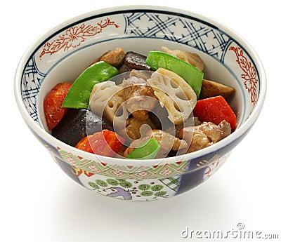 Chikuzenni, japanese nimono cuisine