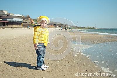 The child ashore
