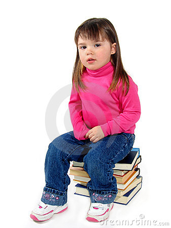 Child On Books