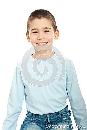 Child boy smile