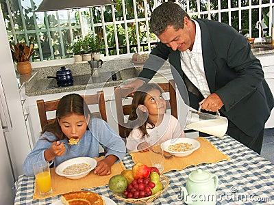 Child breakfast.