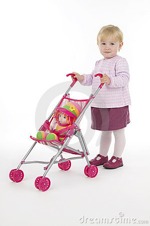 Child with buggy