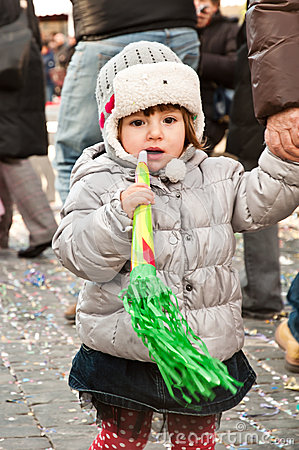 Child with carnival game Editorial Stock Photo