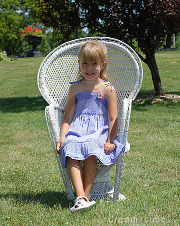 Child in chair