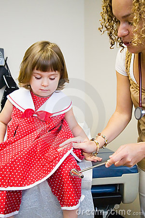 Child Checkup at Doctor Office