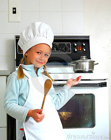 Free Child Chef Cooking Royalty Free Stock Photo - 9591145