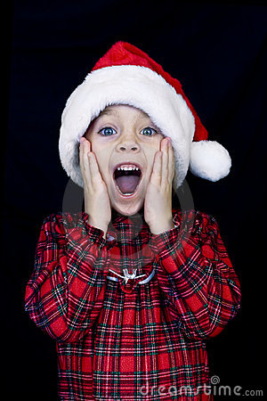 Child on Christmas Morning