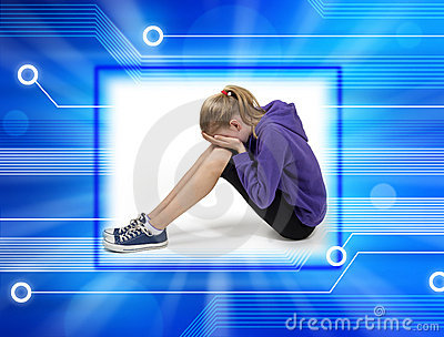 Child Cyber Bullying Computer