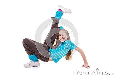 Child dance exercising