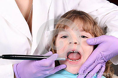 Child dental check