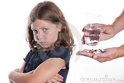 Child Dislikes Medication