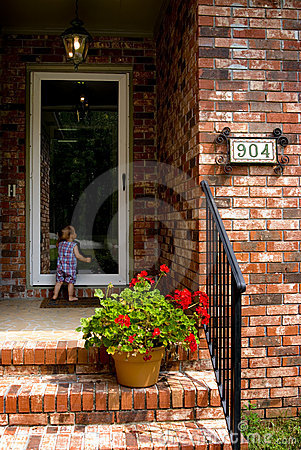 Child at the Door