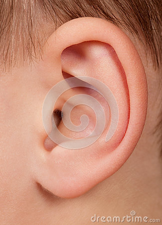 Free Child Ear Stock Images - 59301304