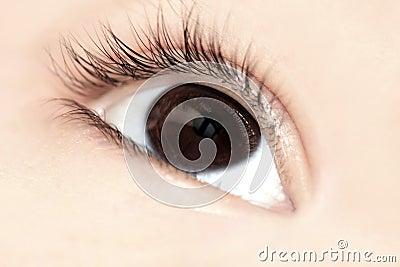 Child Eye closeup
