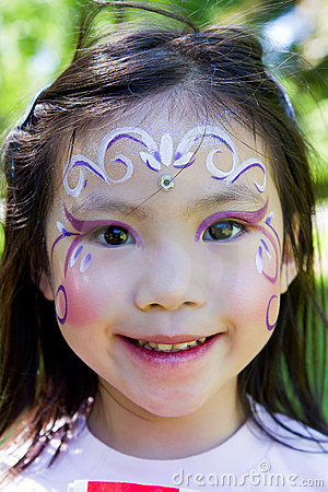 Face Paint Images on Child Face Painting Royalty Free Stock Images   Image  20139739