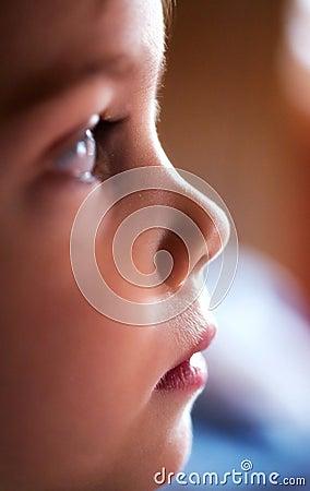 Child face profile