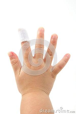 Child finger