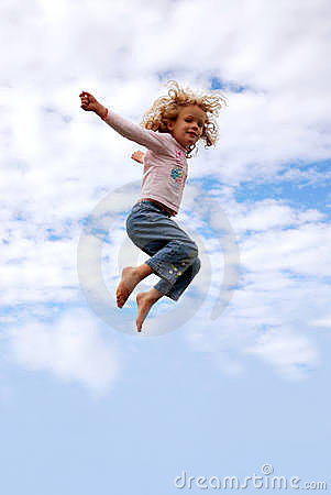 Free Child Flying Royalty Free Stock Images - 6518919