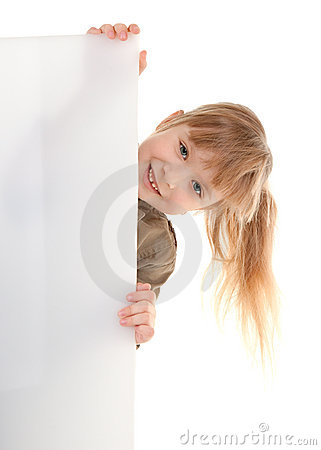 Child girl in game