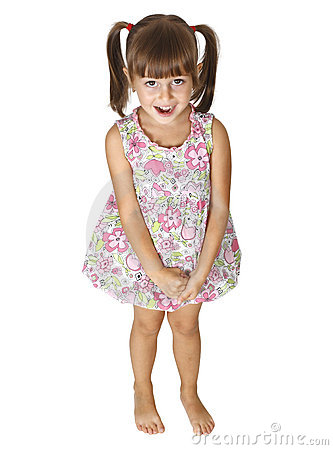 Free Child Girl Surprised Stock Images - 20814774