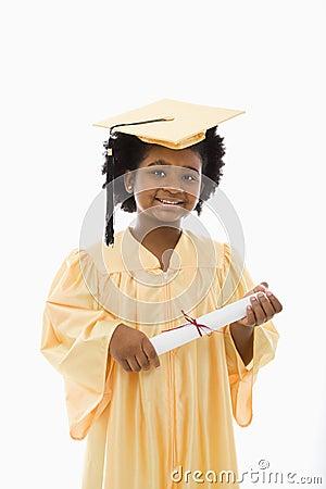 Child graduation.