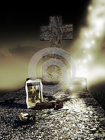 Free Child Grave Stock Photography - 46416862