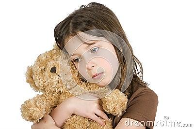 Child and her Teddybear