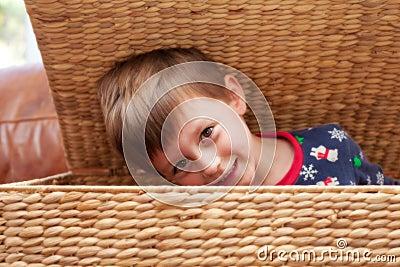Child hiding