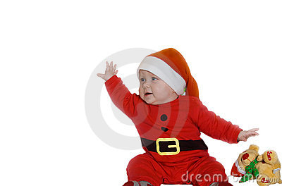 Child in holy Nicolaus dress