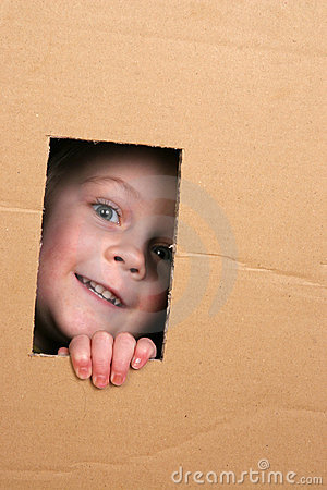 Free Child In Box Stock Photos - 4022053