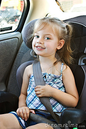 Free Child In Car Seat Royalty Free Stock Images - 10168049