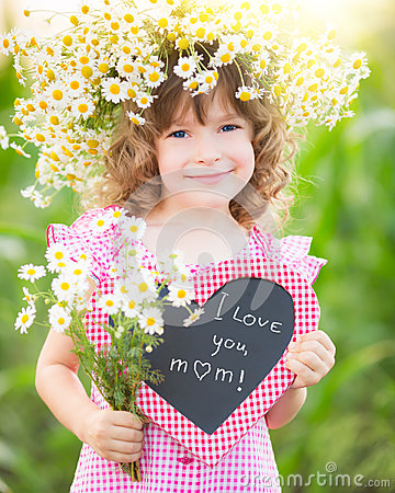 Free Child In Spring Royalty Free Stock Image - 37352496