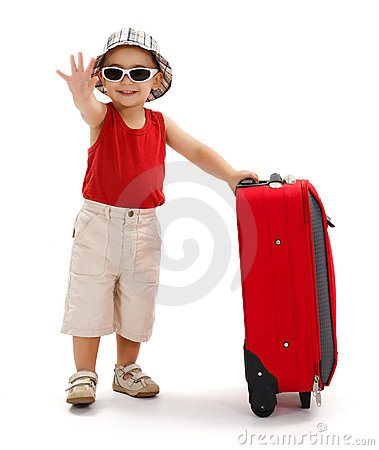 Free Child In Sunglasses, Waving With Hand Stock Photography - 20759312