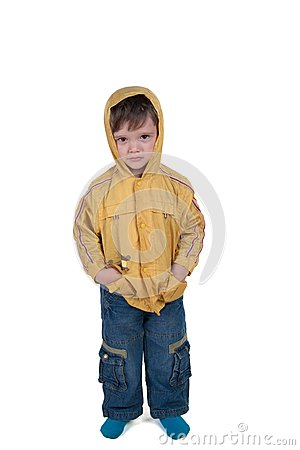 Child in jacket