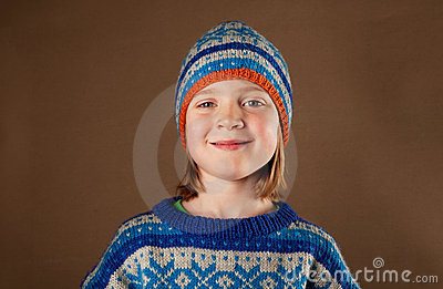 Child jumper hat knitwear fashion