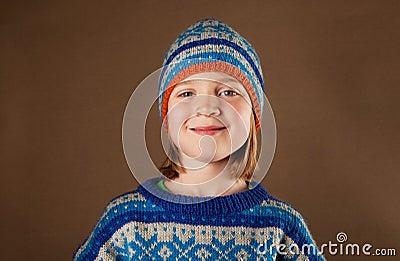 Child jumper hat knitwear fashion