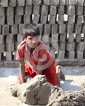 Child labor Editorial Image