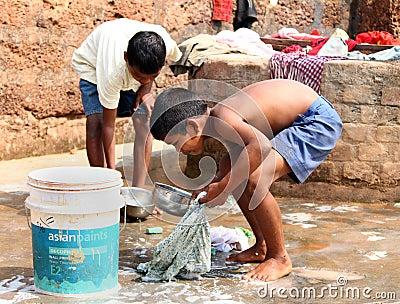 Child labor in India Editorial Stock Photo