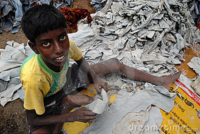 CHILD LABOUR IN INDIA Editorial Photo